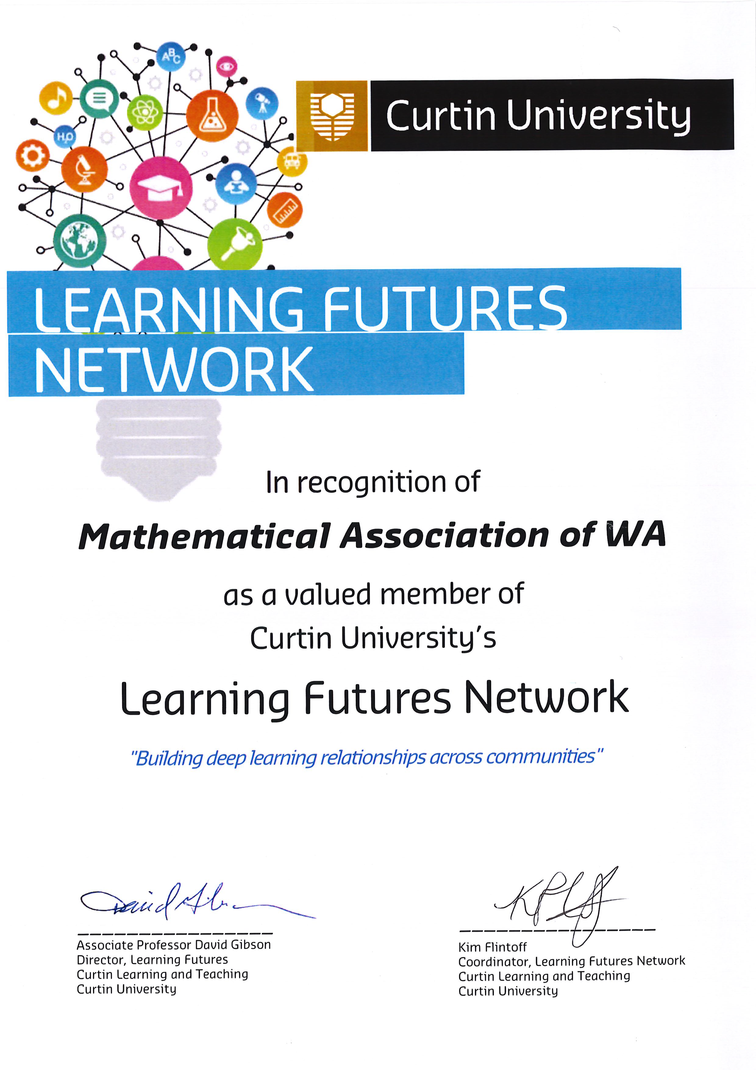 Curtin University Learning Futures Network