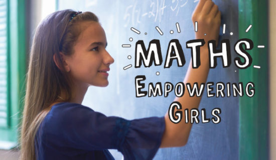 Maths Empowering Girls Logo Web